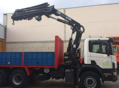 Ressources | Camion-grue Scania